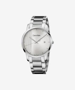 Calvin Klein City Ceas pentru Bărbați - 89523 - culoarea Argintiu