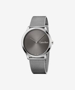 Calvin Klein Minimal Ceas pentru Bărbați - 89548 - culoarea Argintiu