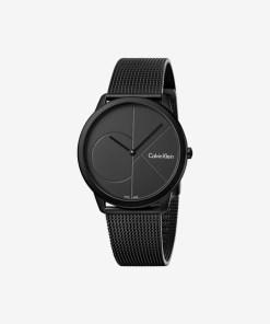 Calvin Klein Minimal Ceas pentru Bărbați - 89581 - culoarea Negru