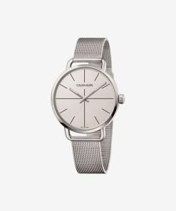Calvin Klein Even Extension Ceas pentru Bărbați - 89630 - culoarea Argintiu