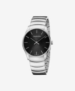 Calvin Klein Classic Too Ceas pentru Bărbați - 89606 - culoarea Argintiu