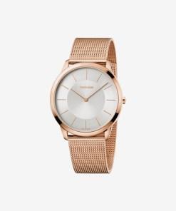 Calvin Klein Minimal Ceas pentru Bărbați - 89576 - culoarea Auriu