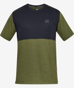 Under Armour Sportstyle Tricou pentru Bărbați - 84716 - culoarea Negru Verde