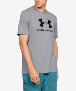 Under Armour Sportstyle Tricou pentru Bărbați - 82616 - culoarea Gri