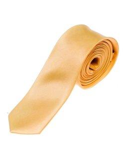 Cravata eleganta pentru barbat portocalie Bolf K001