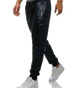 Pantaloni sportivi joggers pentru barbat bluemarin Bolf 3779