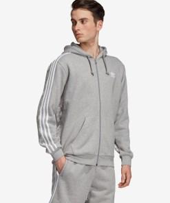 adidas Originals Monogram Hanorac pentru Bărbați - 92358 - culoarea Gri