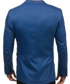 Sacou elegant pentru barbat albastru-deschis Bolf 1050