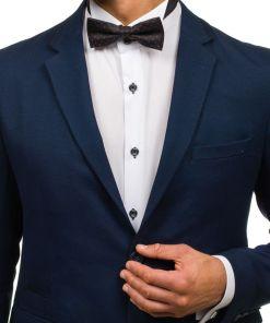 Papion elegant pentru barbat negru Bolf M029