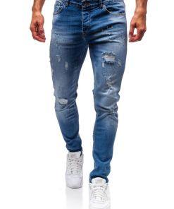 Jeansi pentru barbat albastri Bolf 1008