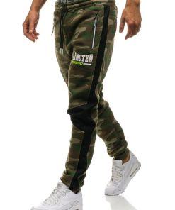 Pantaloni sportivi jogger barbati multicolor Bolf 3782A-A