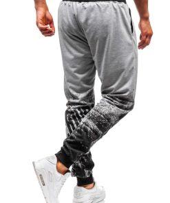 Pantaloni de trening barbati gri Bolf 300129