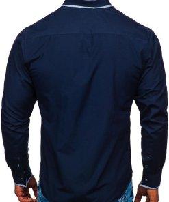 Camasa eleganta barbati bleumarin Bolf 6929-A