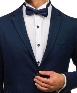 Papion elegant barbati bleumarin Bolf M035-A