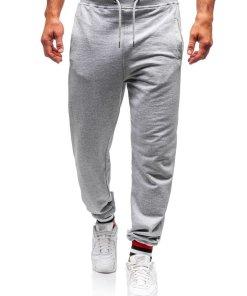Pantaloni de training barbati gri Bolf 145368