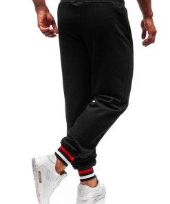 Pantaloni de training barbati negru Bolf 145368