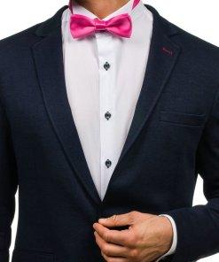 Papion elegant barbati roz-inchis Bolf M001-A