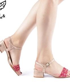 Sandale dama Sanora roz