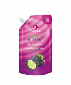 Rezerva sapun lichid Aroma Ritual Grape and lime
