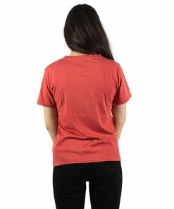Tricou Sun Your Buns SS sunset red
