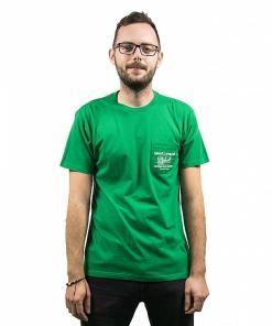 Tricou Beer and Fish SS kelly green