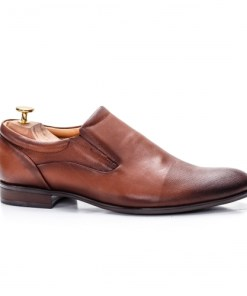 Pantofi eleganti barbati Piele naturala maro Callew