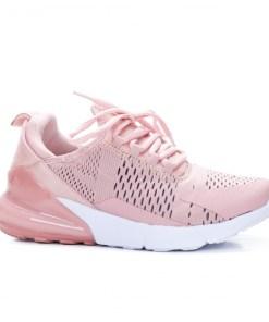 Pantofi sport dama textil roz Buvina