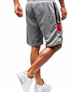 Pantaloni scurți sport bărbați gri Bolf 5750