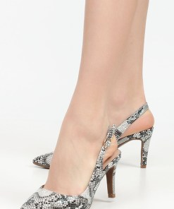 Pantofi cu toc Carisma Bej