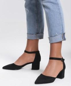 Pantofi cu toc Nolla Negri