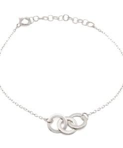 Bratara Argint 3 Cercuri