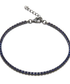 Bratara Argint Navy Blue M