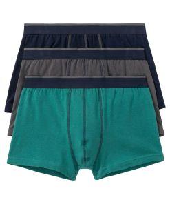 Chilot Boxer bonprix - marin-gri-verde