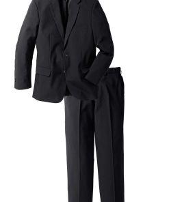 Costum cu 2 piesa: sacou și pantaloni bonprix - negru