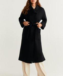 Palton supradimensionat din amestec de lana Burns 2083541