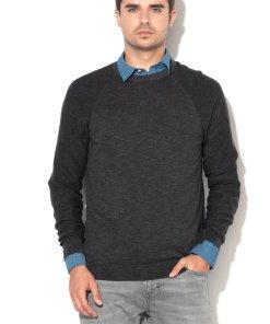 Pulover din tricot fin cu maneci raglan 2146161