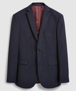 Sacou regular fit de lana Signature 1993795