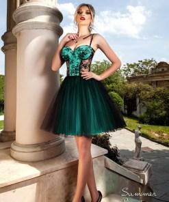 Rochie baby doll Sweet Sensation verde