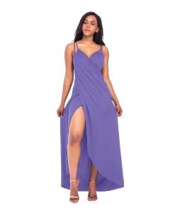RV460-10 Rochie de plaja stil sarong, cu bretele subtiri