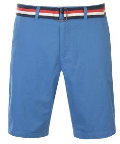 Pantaloni chino Pierre Cardin Belted Chino Shorts Mens