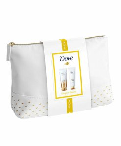 Set cadou Dove Advanced Elegant Beauty Collection (Sampon Dove Advanced Hair Series Pure Care Dry Oil, 250 ml + Balsam Dove Advanced Hair Series Pure Care Dry Oil 250 ml)