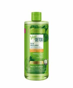 Apa micelara hidratanta fata pentru piele uscata cu Broccoli + dovleac + prebiotic Vege Detox, 500 ml