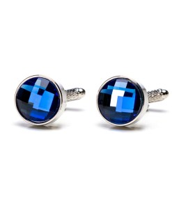 Butoni Camasa Albastru Cristal BU022 100
