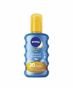 Protectie solara Nivea Sun - Protect & Refresh SPF30 200ml