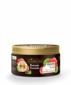Crema exfolianta corp cu extract de Ghimbir + Angelica Botanic Formula, 350 g