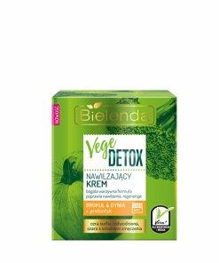 Crema hidratanta fata pentru piele uscata cu Broccoli + dovleac + prebiotic Vege Detox, 50 ml