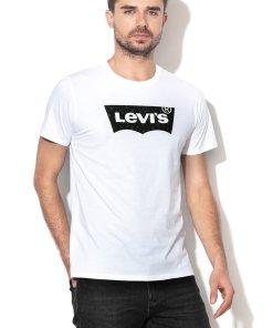 Tricou de bumbac cu imprimeu logo