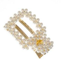 Agrafa mireasa, cu perle acrilice