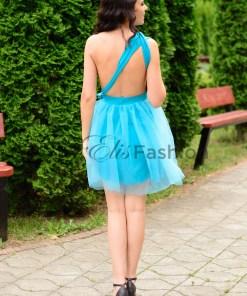 Rochie Versatila cu Tulle Turquoise
