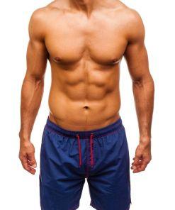 Pantaloni scurți de înot pentru bărbat albaștri Bolf 82252